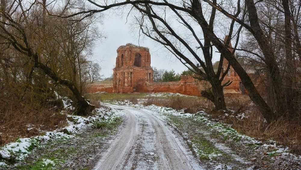 Калужские туристы посетовали на разрушение брянского монастыря