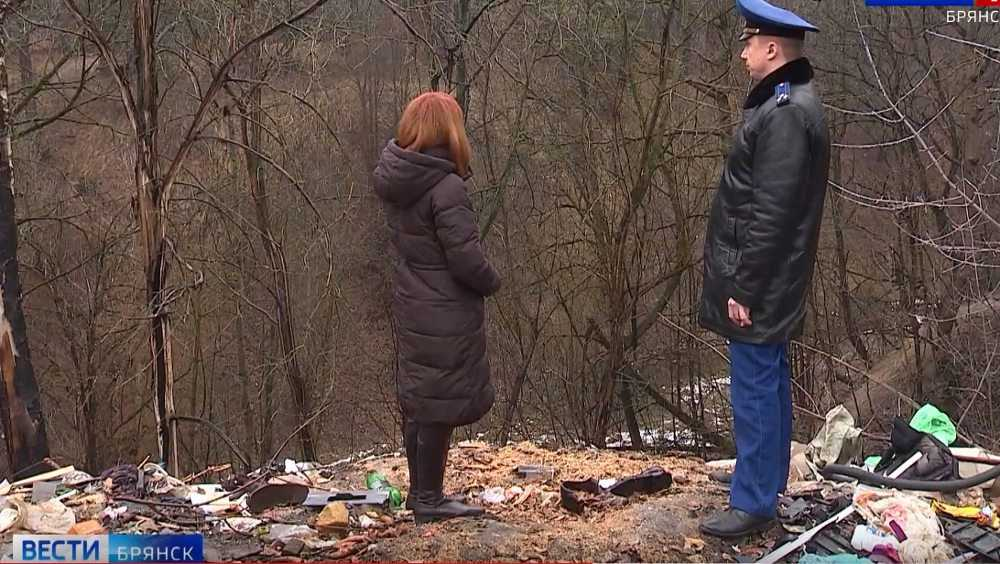 В Брянске прокуратура взяла на контроль очистку Судков от свалок