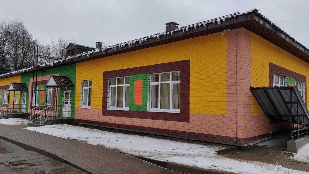В Брянске открыли пристройку к детскому саду «Подсолнушек»