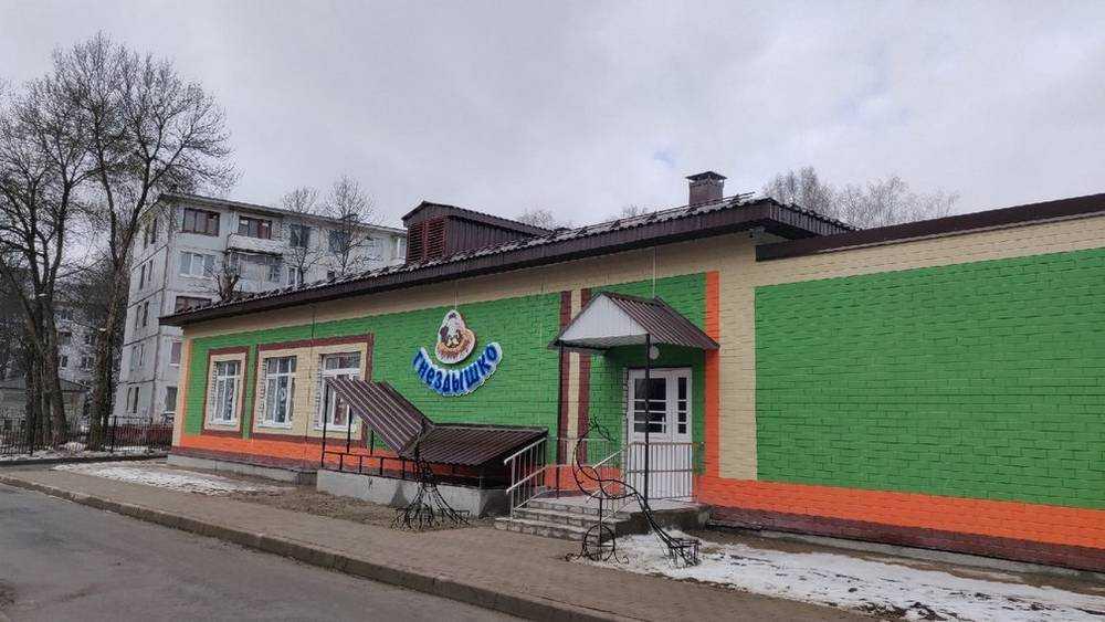 В Брянске открыли пристройку к детсаду «Гнездышко»