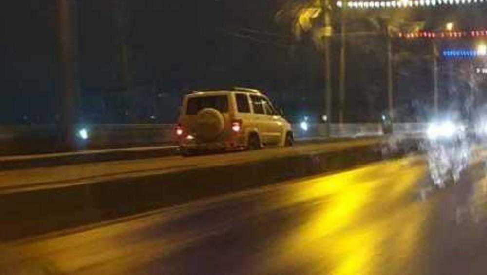 В Брянске водителя УАЗа накажут за пьяную езду по встречной полосе