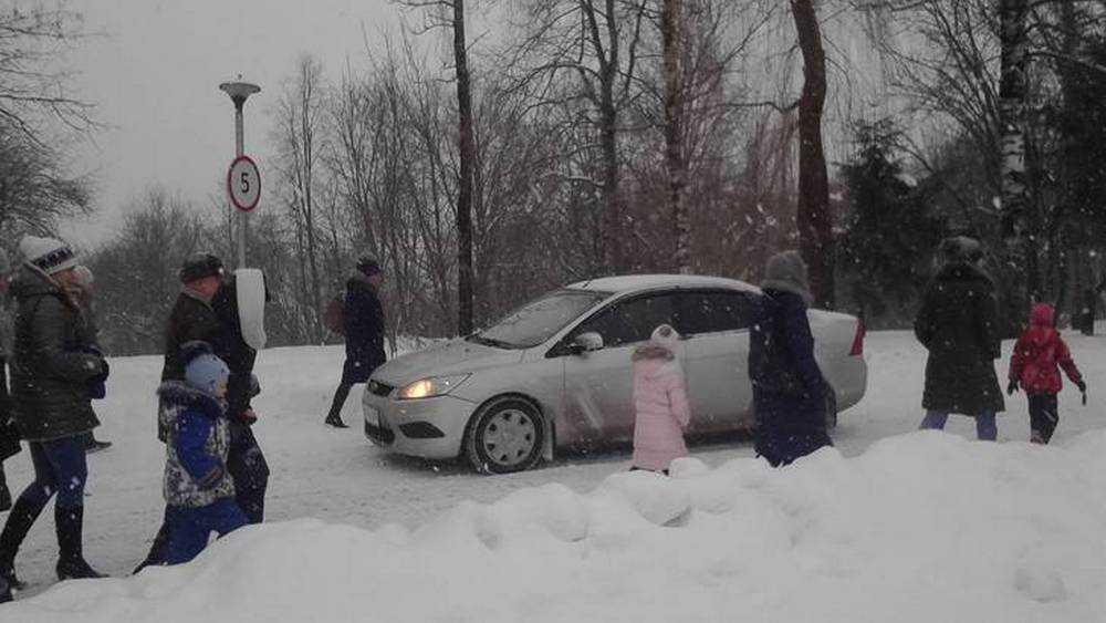 В Брянске попросили открыть опасный проезд к Кургану и в «Лапландию»