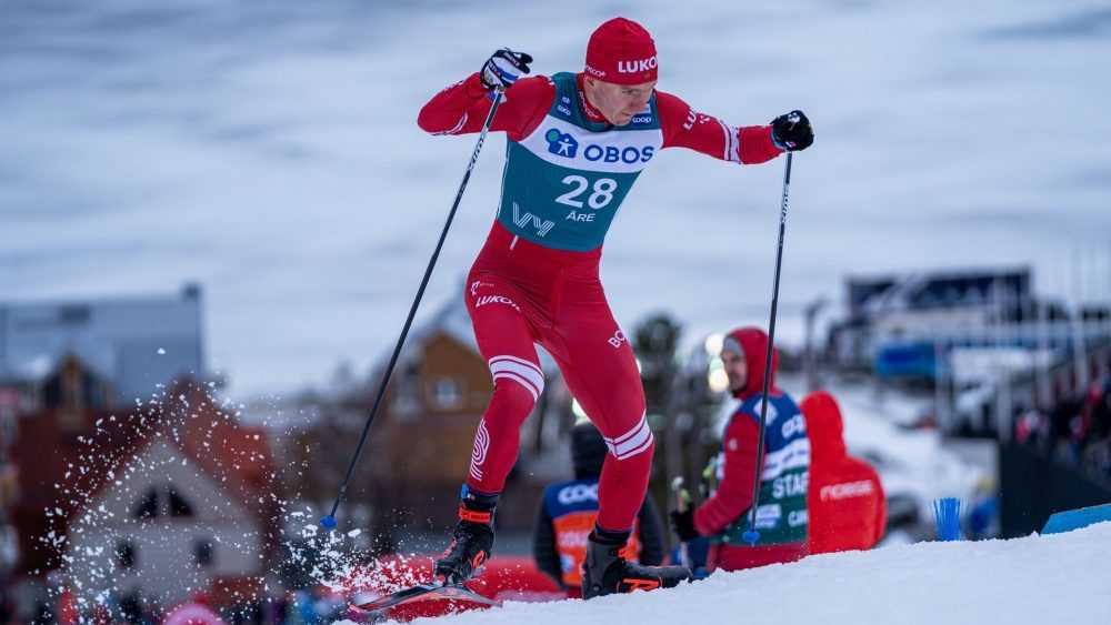 Брянский лыжник Большунов занял пятое место в спринте
