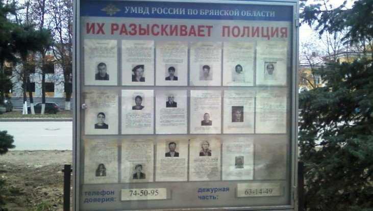 Брянская полиция за 2 дня задержала 32 скрывшихся от следствия преступника