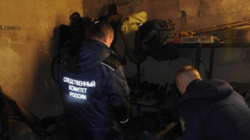 Под Брянском при пожаре погибли три человека
