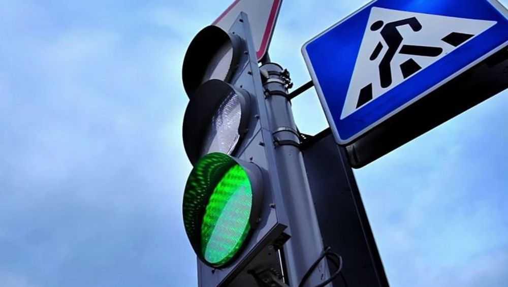 В Брянске установили еще один светофор на улице Фокина