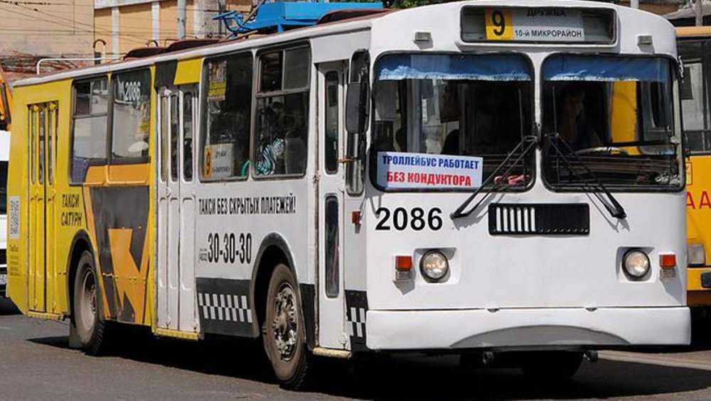 В Брянске на один день изменят схему движения троллейбуса № 9