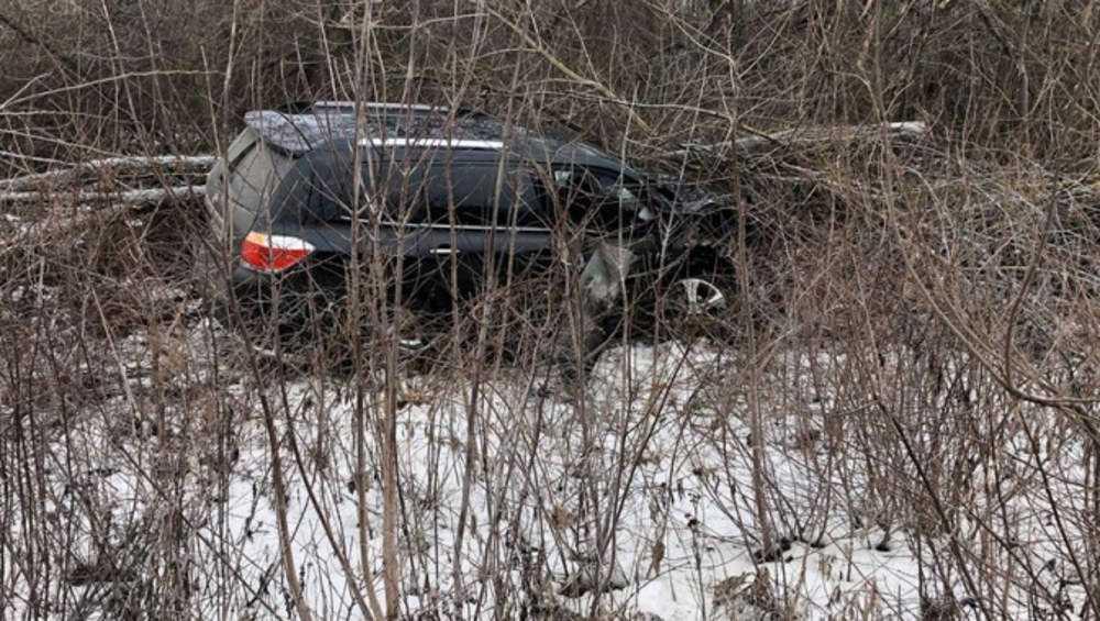 В аварии под Брянском автомобилистка получила перелом позвоночника