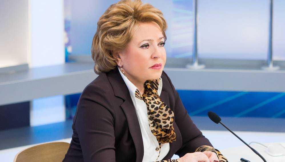 Матвиенко поддержит проведение в Брянске форума регионов Белоруссии и России