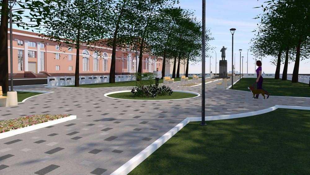 В Брянске обсудили план благоустройства Володарского района