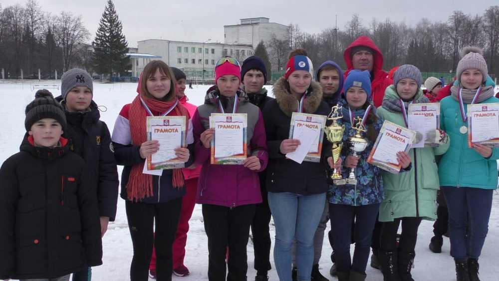 Брасовские юные лыжники удачно выступили в Курской области