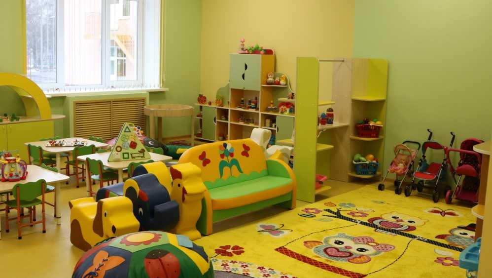 В Брянске открыли пристройку к детсаду «Зелёный огонёк»