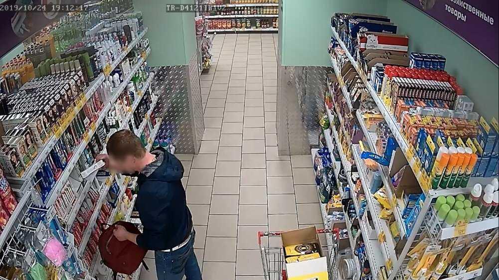 В Брянской области активизировались магазинные воришки
