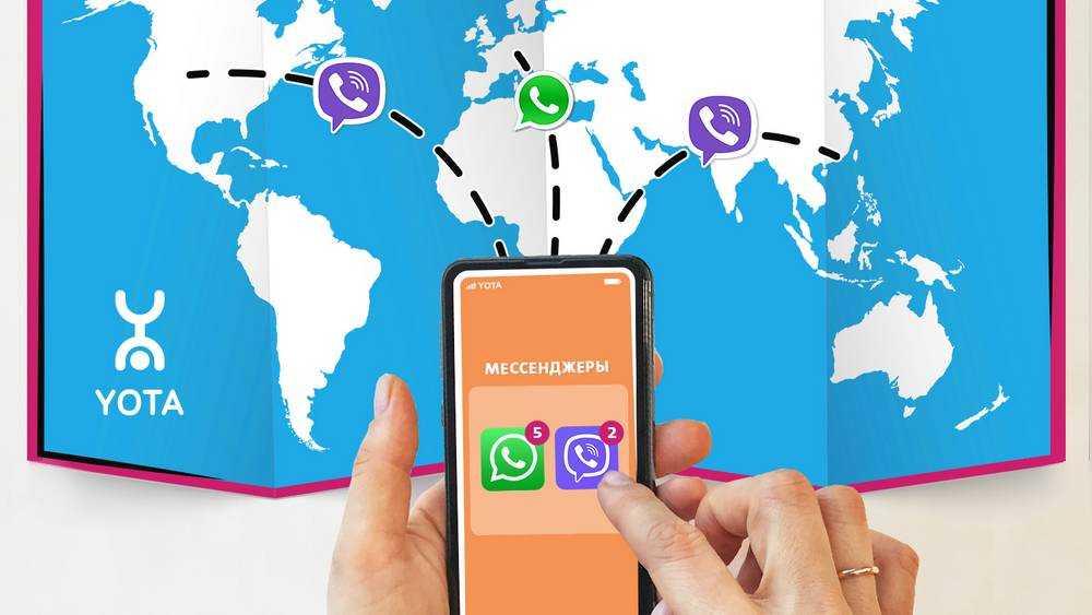 Yota даёт возможность бесплатно обмениваться сообщениями в роуминге