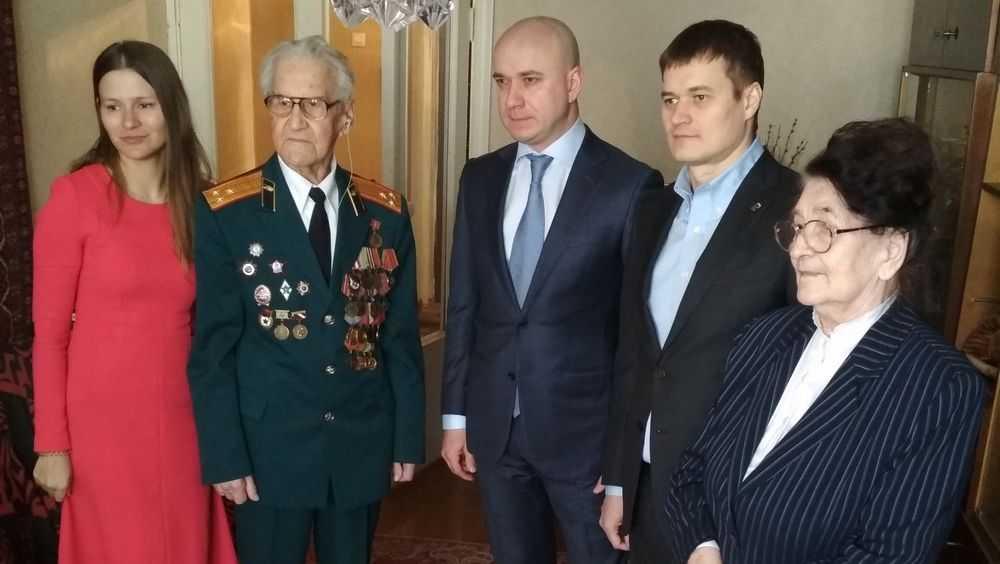 Брянский ветеран стал одним из героев документального фильма «Память говорит»