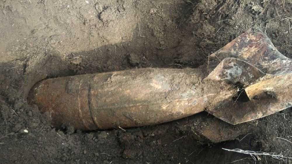 Под Дубровкой обнаружили 50-килограммовую авиабомбу