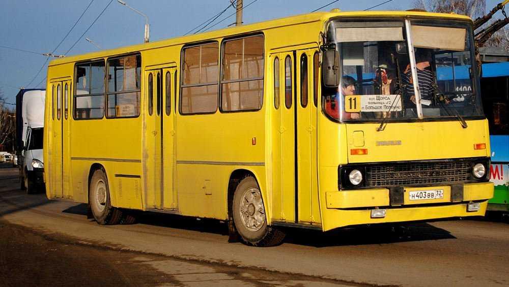 В Брянске маршрут автобуса № 11 продлили до Бежицкого района