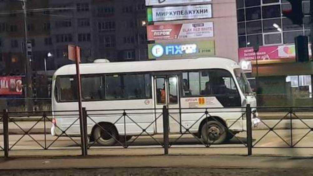 Жителей Брянска умилила ночная работа водителя автобуса № 99