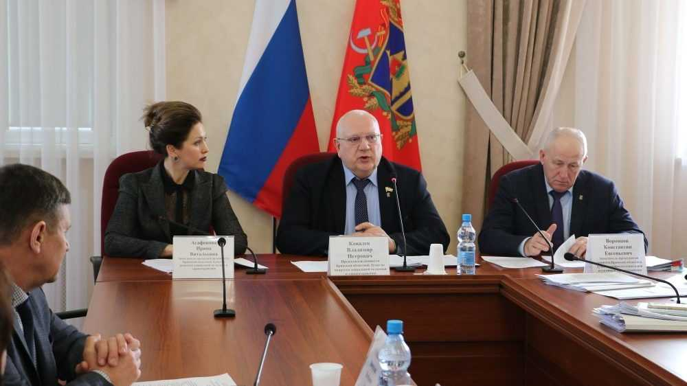 В Брянске обсудили реализацию нацпроектов «Демография» и «Здравоохранение»