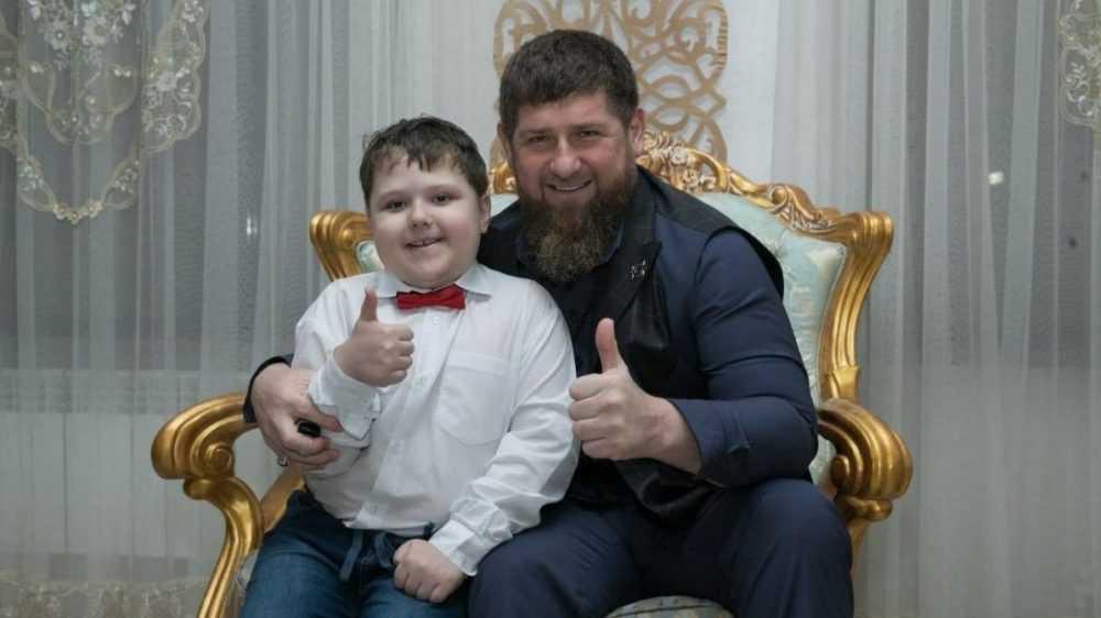 Рамзан Кадыров рассказал о встрече с брянским мальчиком Давидом Лощаковым