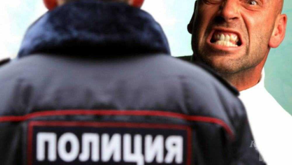 На жителя Климова завели дело за оскорбление полицейского