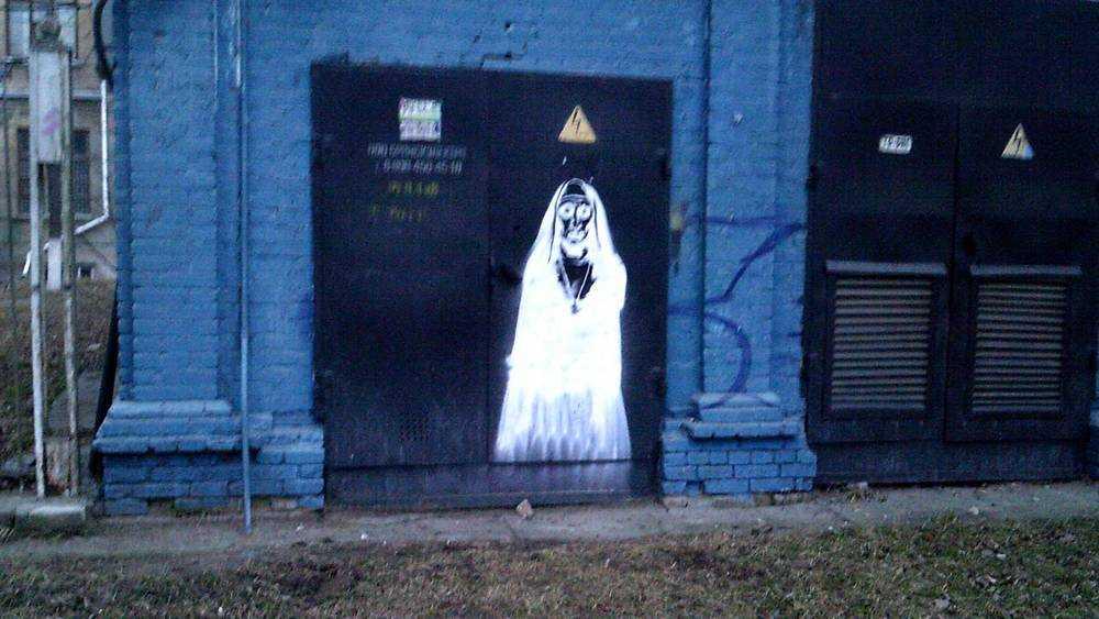 Брянцев удивили граффити с трагическим намеком