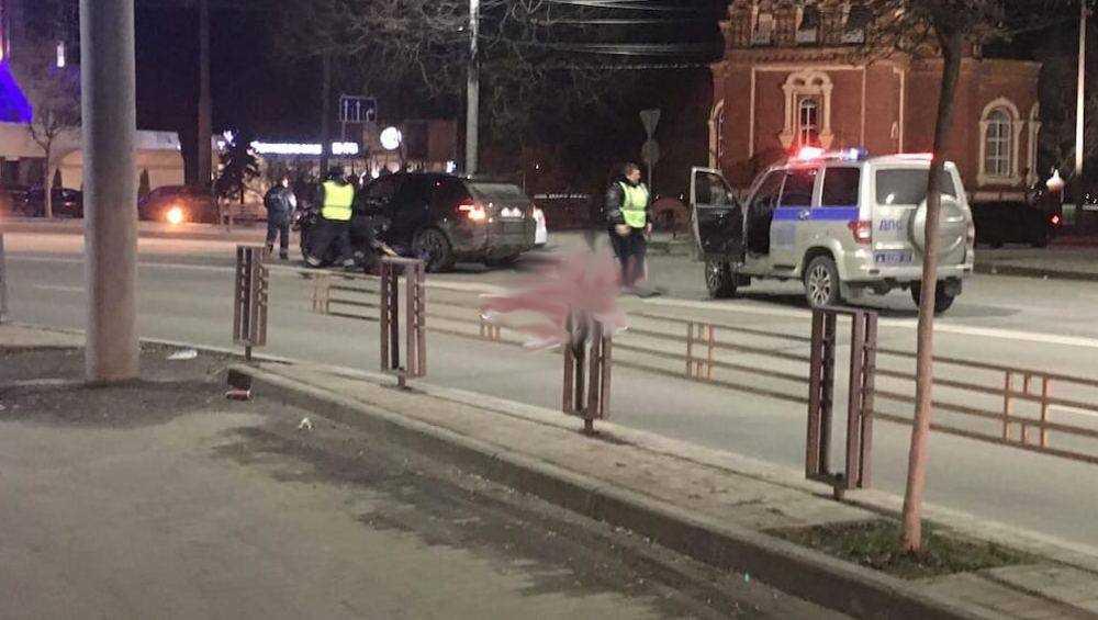 На проспекте Ленина ночью произошло серьезное ДТП