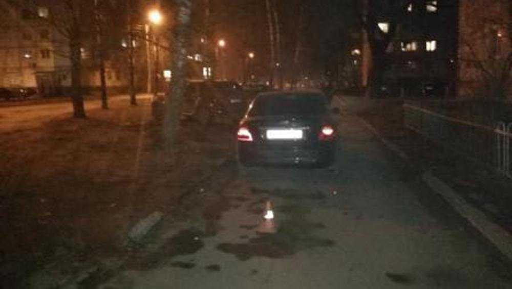 В Брянске трезвая автомобилистка при пьяной езде наехала на женщину