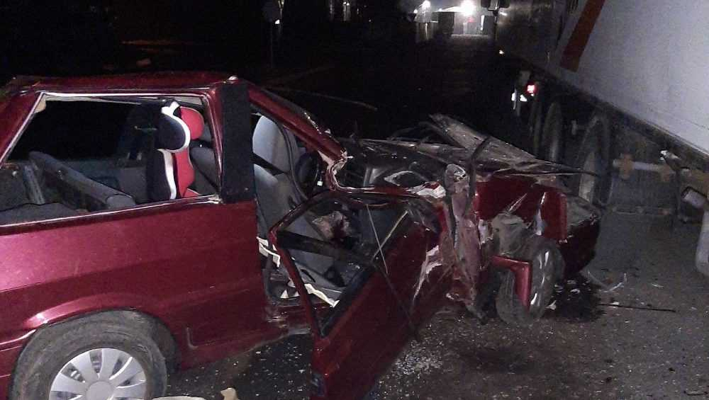 В ДТП в Белых Берегах травмы получили водитель и пассажир легковушки