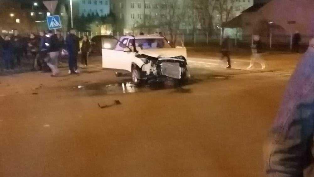 В Клинцах пенсионерка-автомобилистка спровоцировала ДТП с BMW