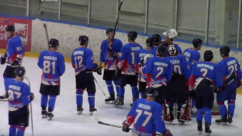 В последнем матче хоккейного первенства брянцы разгромно проиграли