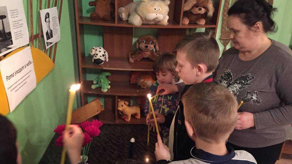 В погарском приюте детям рассказали о подвиге шестой роты