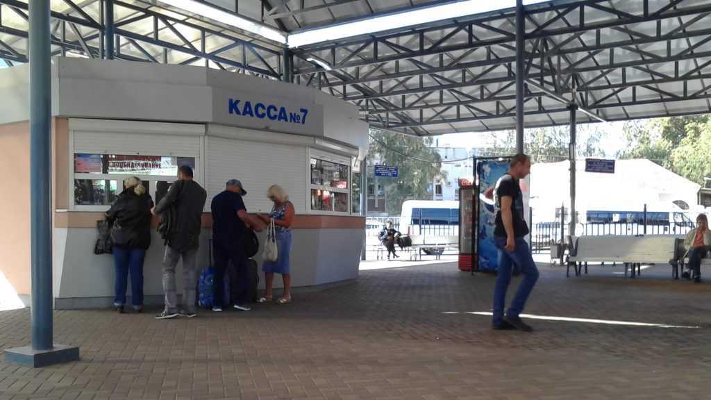 На автовокзале в Брянске приняли меры по предупреждению коронавируса