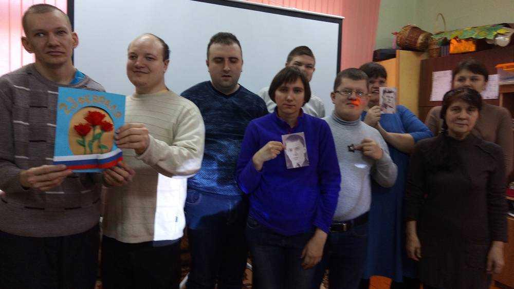 В социальном центре Трубчевска подросткам показали фильм о герое войны