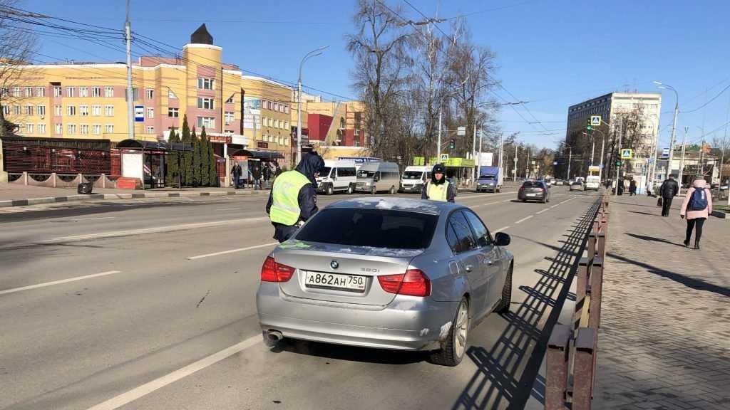 В Брянске завтра пройдут сплошные проверки водителей