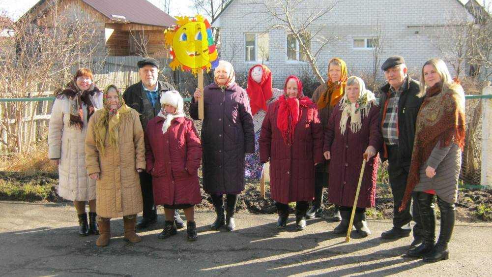 В интернате Новозыбкова отпраздновали Масленицу и проводили зиму
