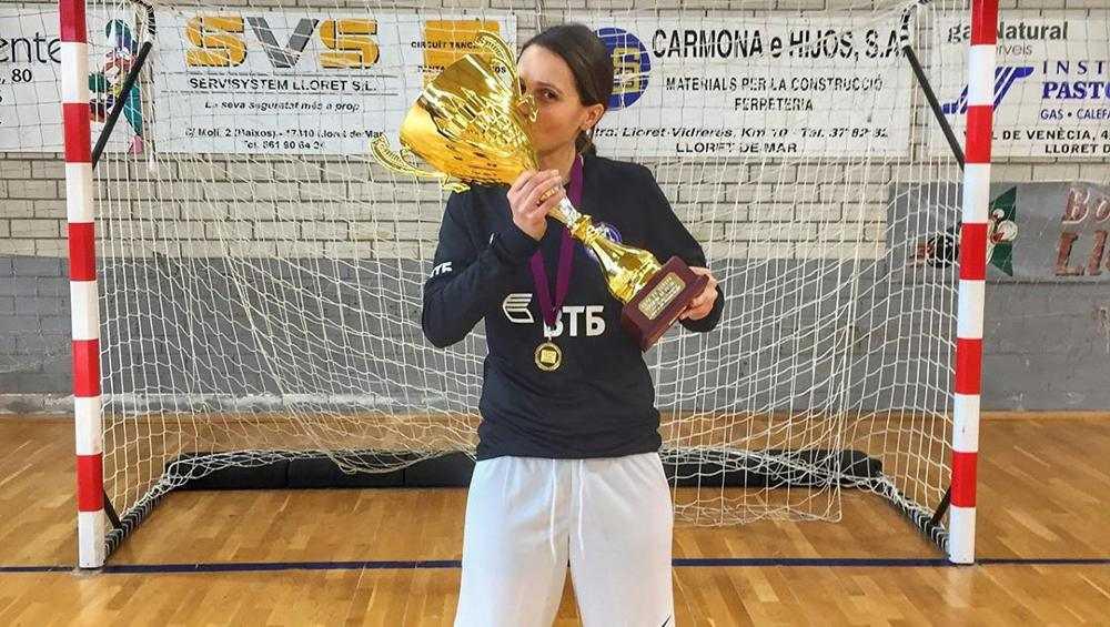 Брянская футболистка Иветта Акулова задала жару соперницам в Москве