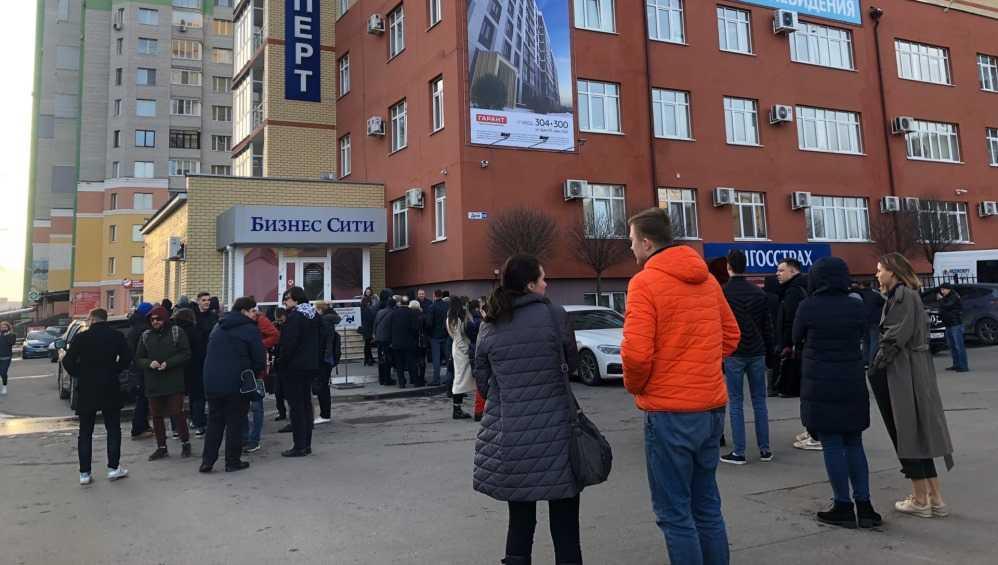 В Брянске эвакуировали людей из центра «Бизнес-сити» на улице Дуки