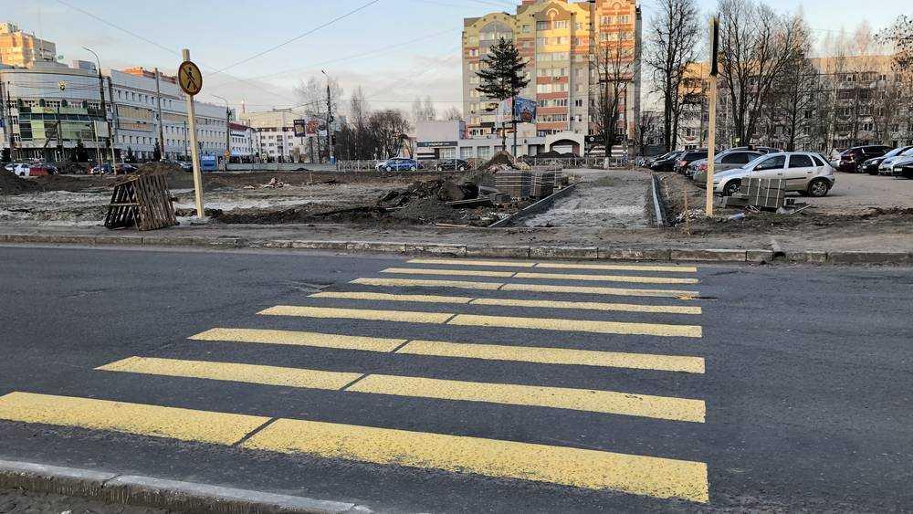 В Брянске началось активное строительство развязки на Советской