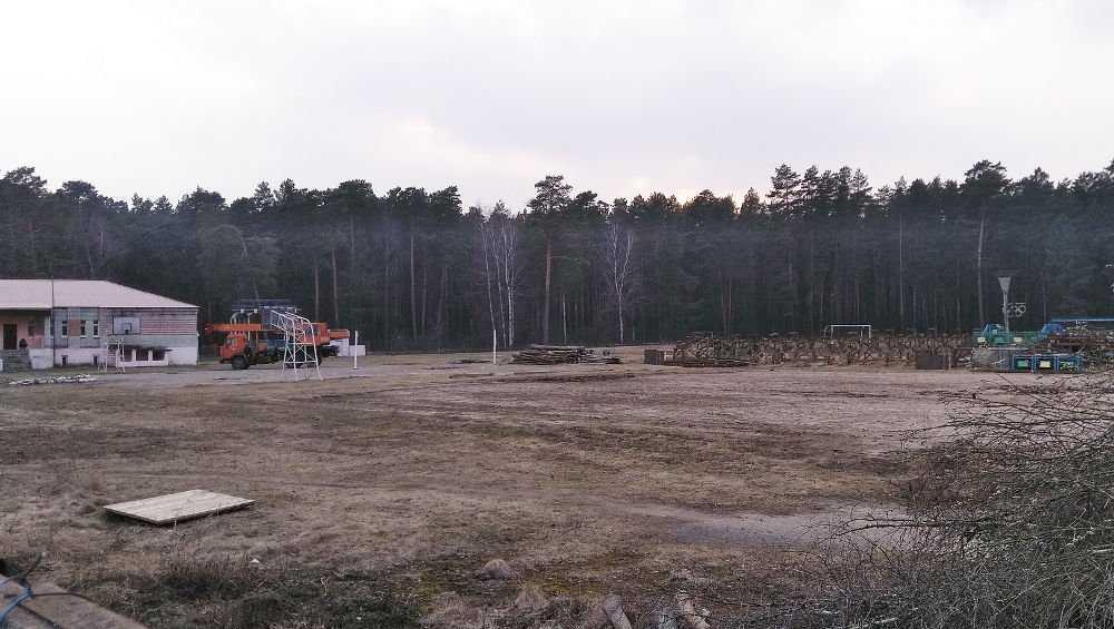 В Жуковке расчистили площадку под будущий Ледовый дворец