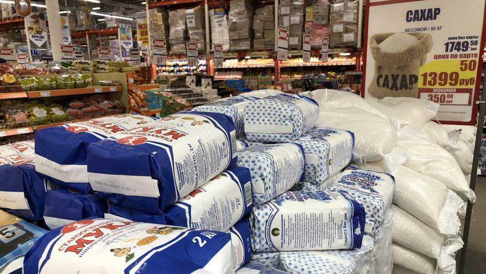 Сахар побил рекорд подорожания в Брянской области