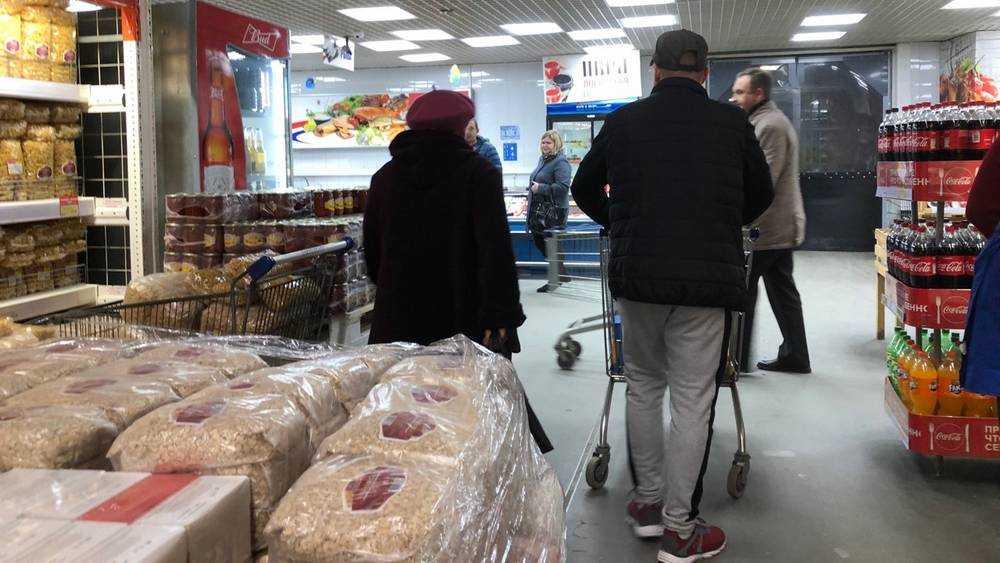 В Брянске оперативный штаб опроверг слухи о дефиците продуктов