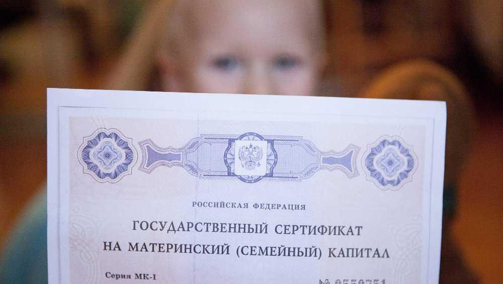 В Брянской области подали первые заявления на маткапитал за первенцев