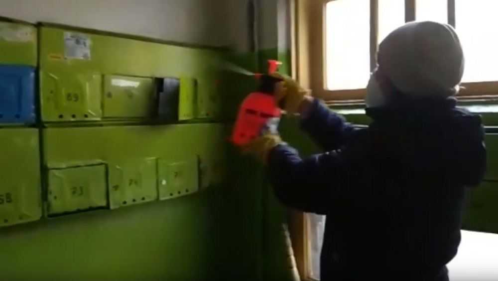 Управляющие компании в Брянске должны обеззаразить подъезды