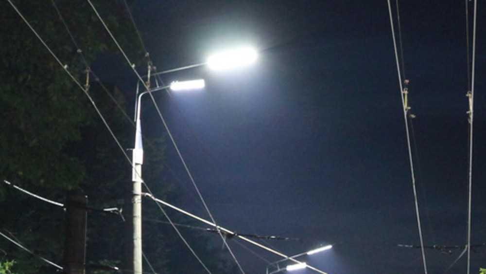 На пяти улицах Советского района Брянска установят новые фонари