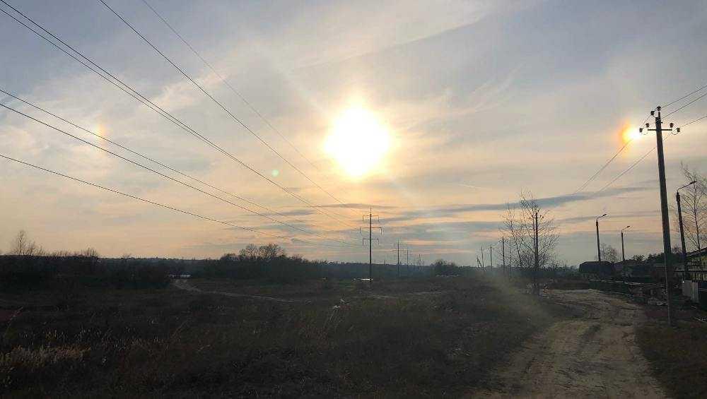 В Брянске увидели два солнца