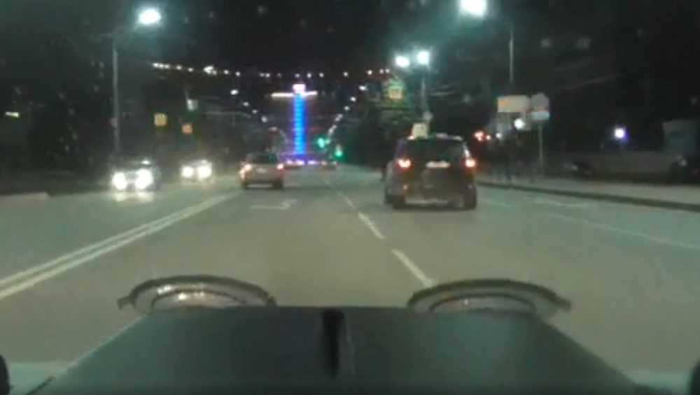 В Брянске стали известны подробности ночного ДТП на проспекте Ленина