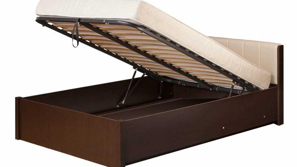 Кровати с подъёмным механизмом как актуальный тренд