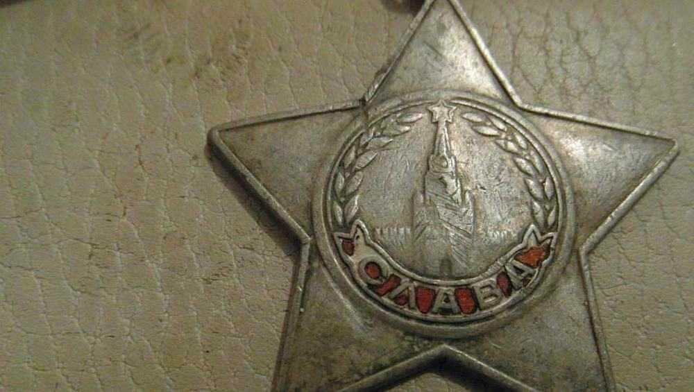 В брянской деревне нашли потерянный челябинцем орден Славы