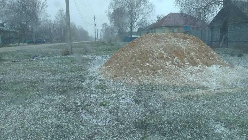 В воскресенье в Брянской области продолжится снегопад
